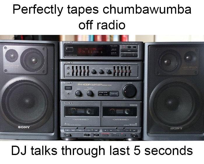 Taping Music