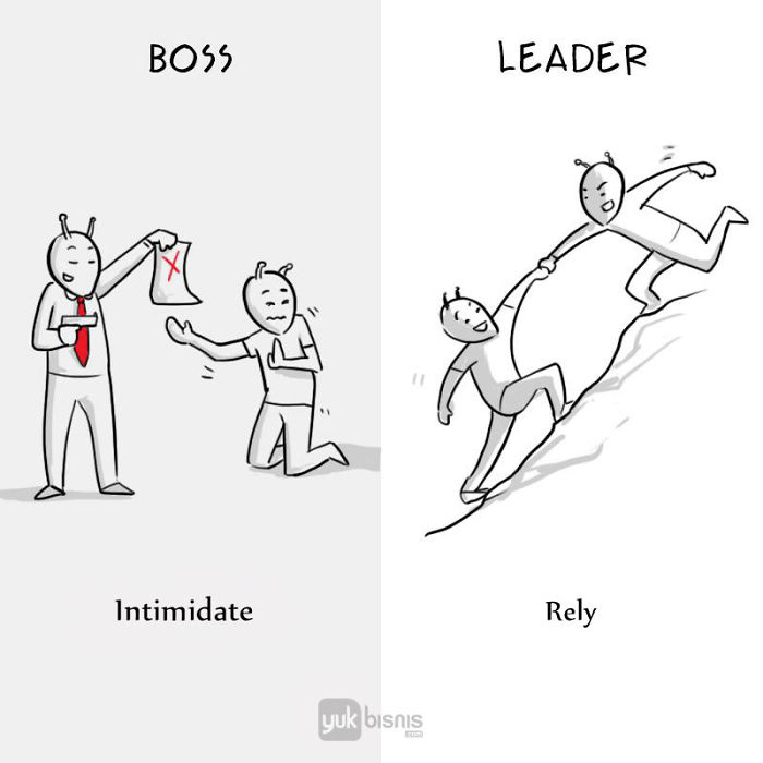 The Real Difference Between A Boss And A Leader Explained In