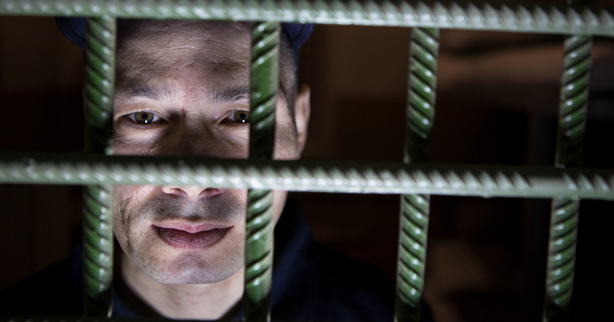 I've Photographed The Gaze Of Serial Killers In A Prison In Ukraine