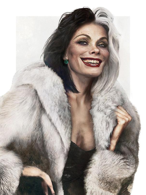 Cruella De Vil A 101 dalmáttól