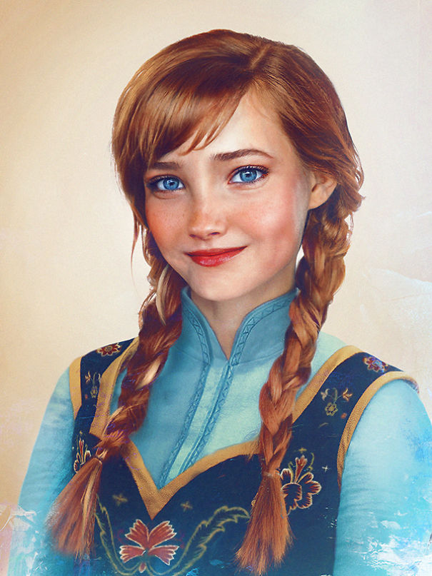 Artist Reimagines 54 Disney Characters As Real People And Men Will