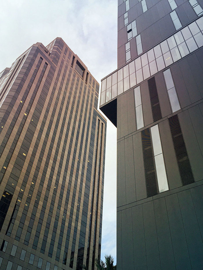 Two Buildings In Downtown New Orleans