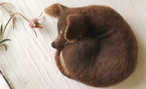 Artist Creates Adorable Puppies From Wool, And They Look So Real