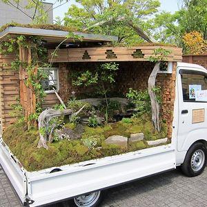 Japanese Mini Truck Garden