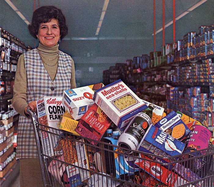 Grocery Cart, 1974