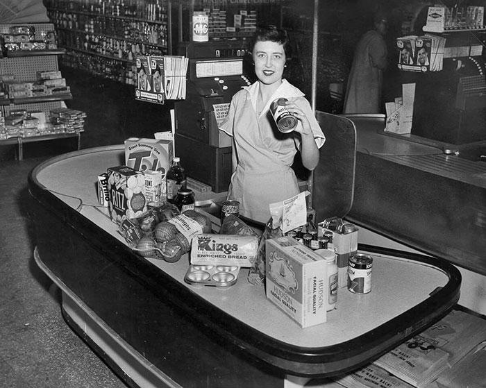 Kings Supermarket, 1950s