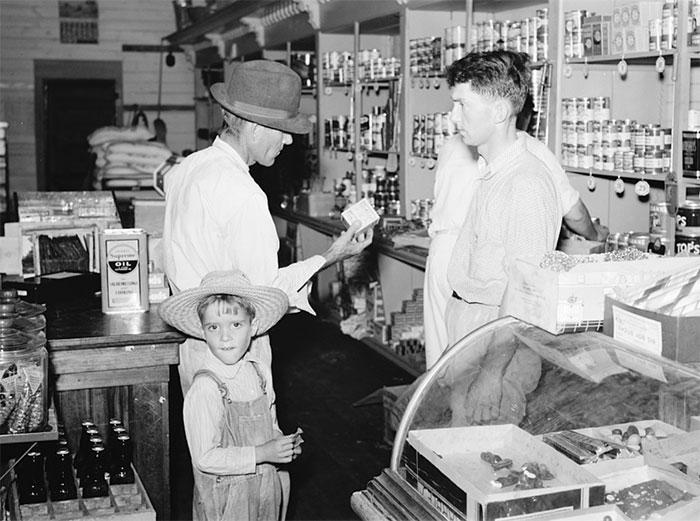 Scene In The Cooperative Store At Irwinville Farms, Georgia, 1938