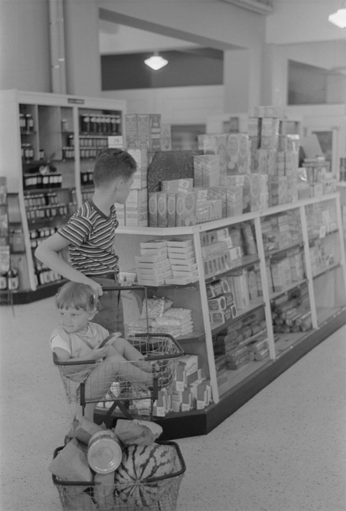 Cooperative Store At Greenbelt, Maryland, 1938