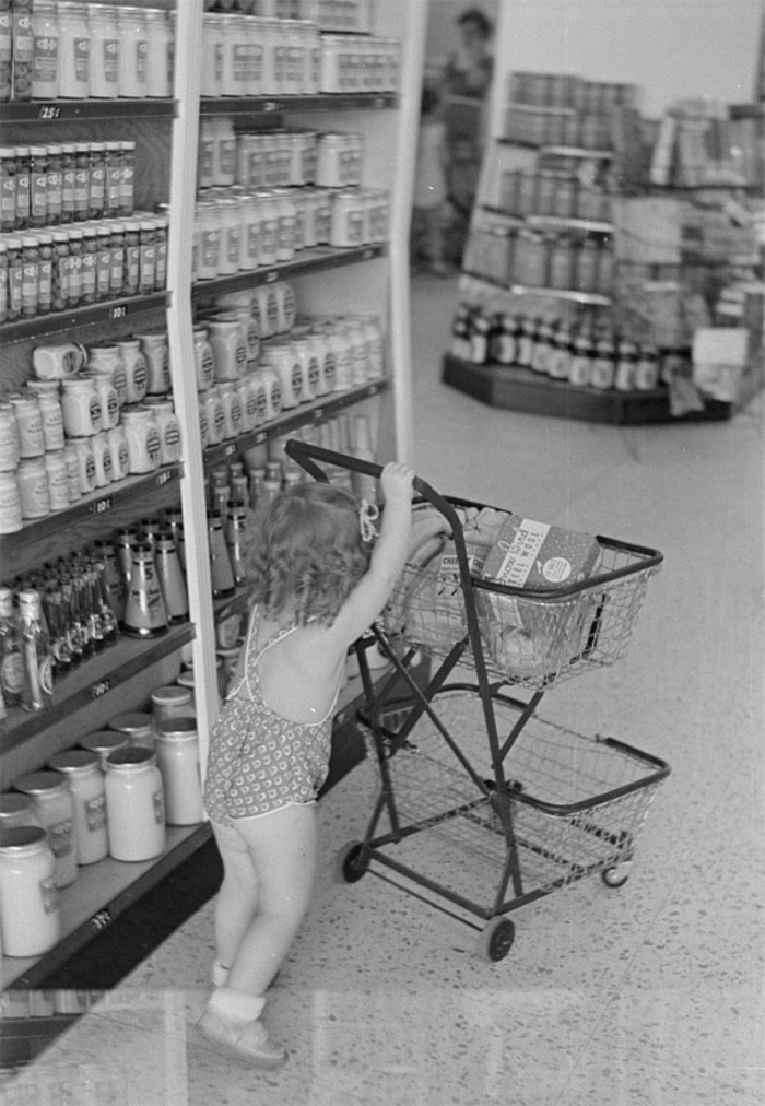 Shopping In Coop Store, Greenbelt, Maryland, 1938