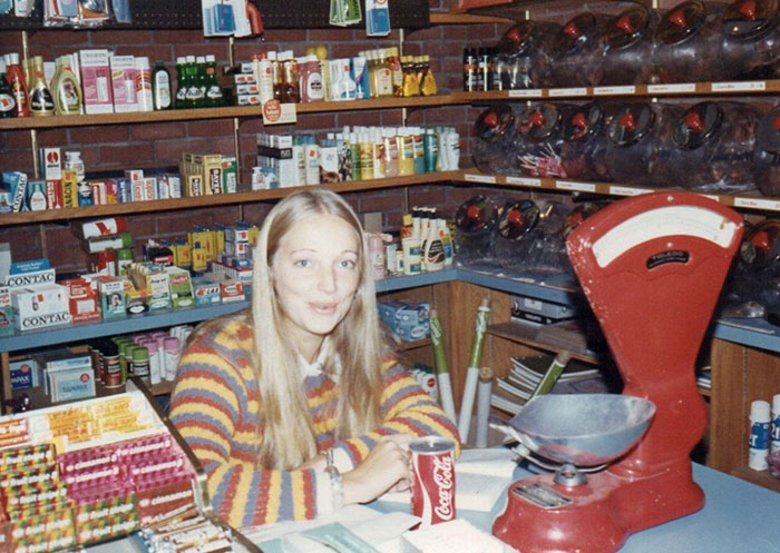 Working At A General Store, 1973