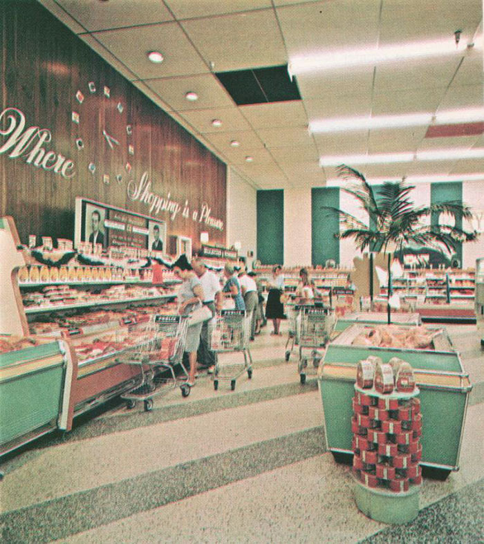Supermarket In 1960s