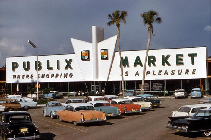 Publix Market In Sarasota, Florida, 1961