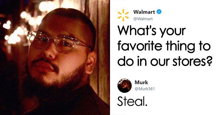 Guy Tells Walmart He Likes To Steal From Their Stores, And Their Response Is So Good, People Say They Beat Wendy's