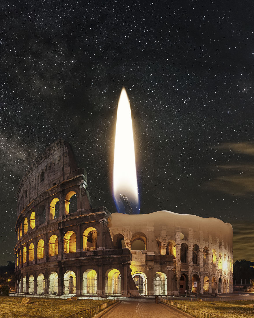 Candle Of Rome