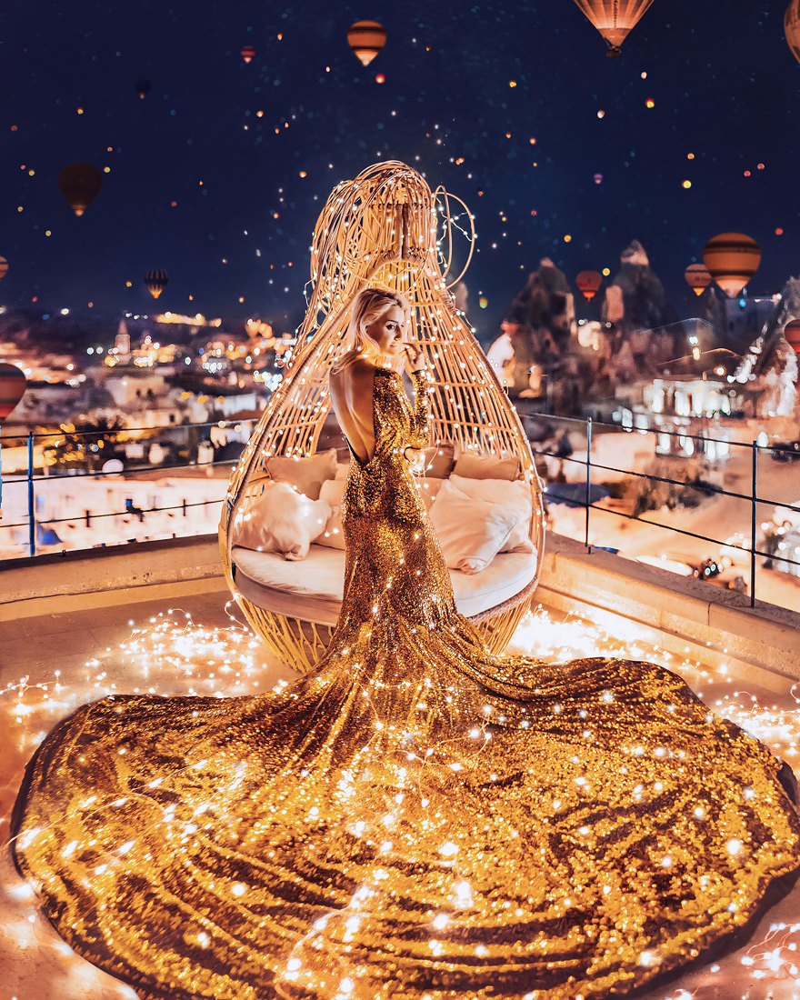 Göreme, Cappadocia, Turkey. Model: Nastya