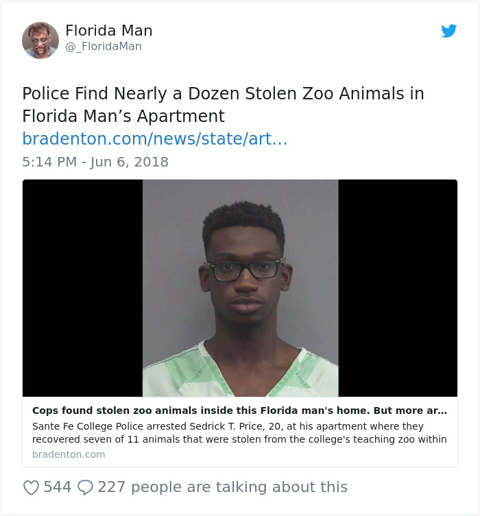 Best Florida Man Headlines 2019 60 Times Florida Man Did Something So Crazy We Had To Read The