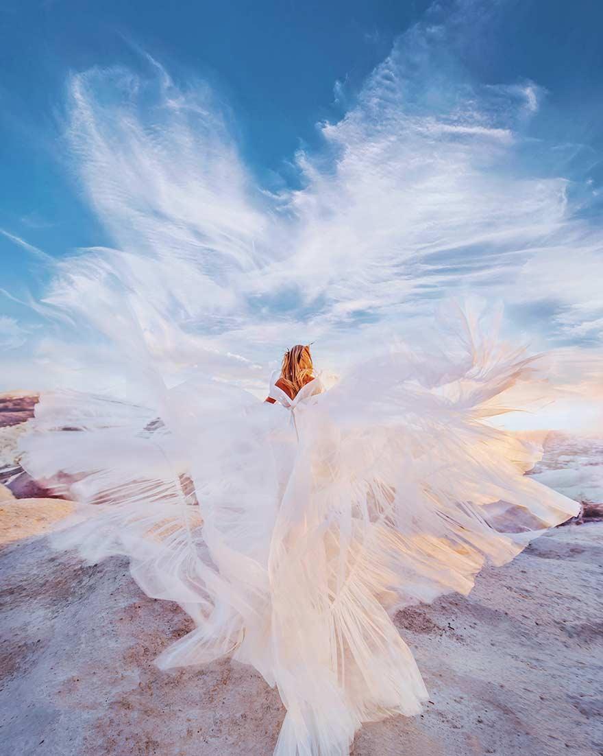 Cappadocia, Turkey. Model: Masha