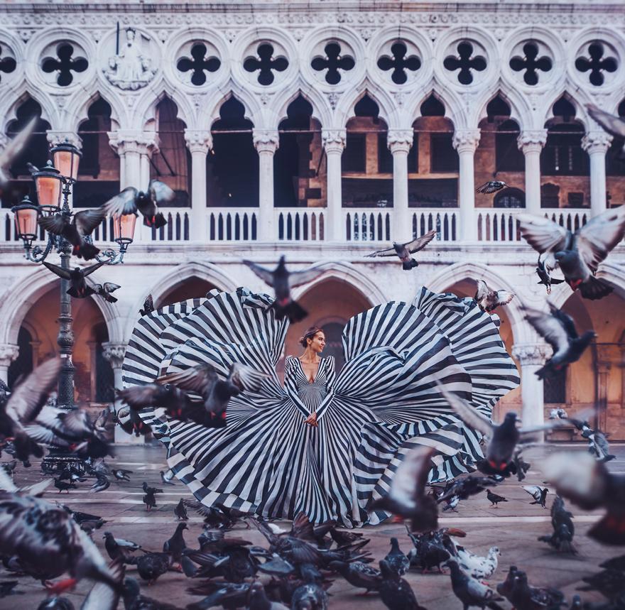 Venice, Italy. Model: Idil