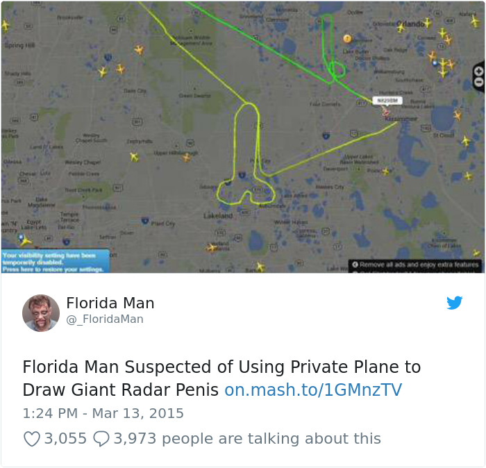 15 Times Florida Man Did Something So Bizarre That We Had To Read The Headings Again