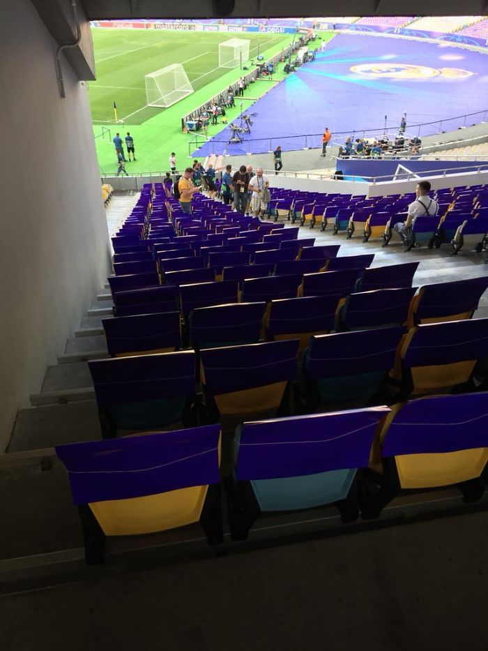 These Seats For The UCL Final Tonight