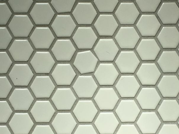 This Tile In My Bathroom Floor