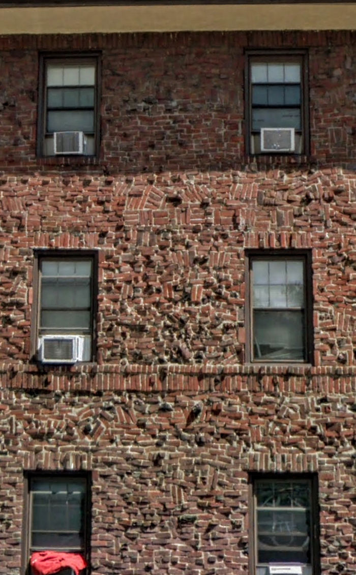 This Brickwork On A Philly Apartment Building
