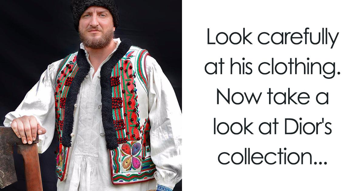 El pueblo rumano se da cuenta de que Dior ha copiado su ropa tradicional y se defiende de forma genial