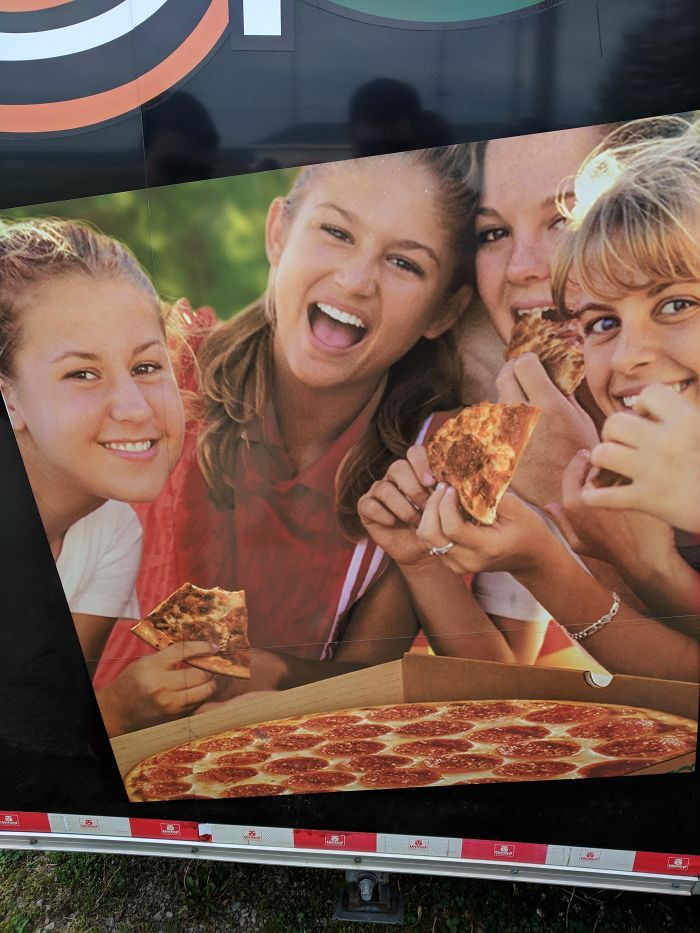 Where Did The Pizza Come From? The Box Is Full