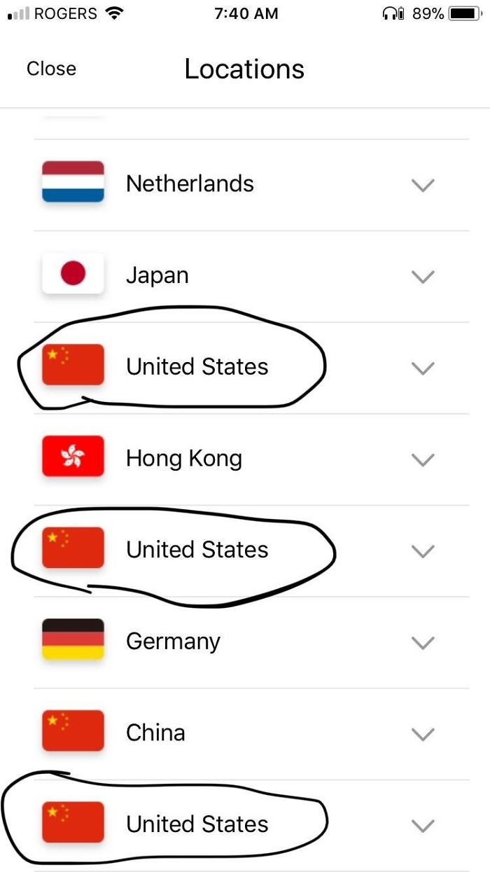 Ah Yes, I Too Live In The United States
