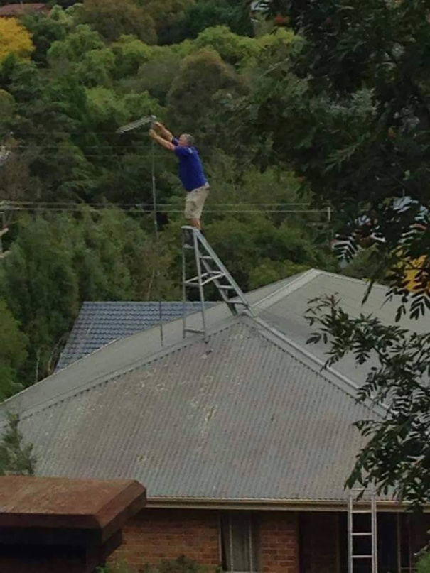 Mounting And Aiming A Wireless Isp Customer Radio + Antenna
