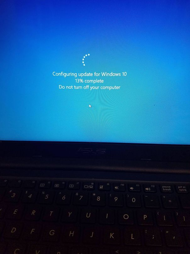 Microsoft Force-Closed My Final Exam To Update Windows 10
