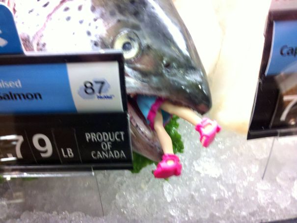 I Found This In The Seafood Department Of My Local Supermarket