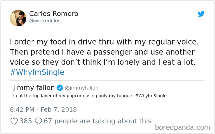 Funny Whyimsingle Tweets