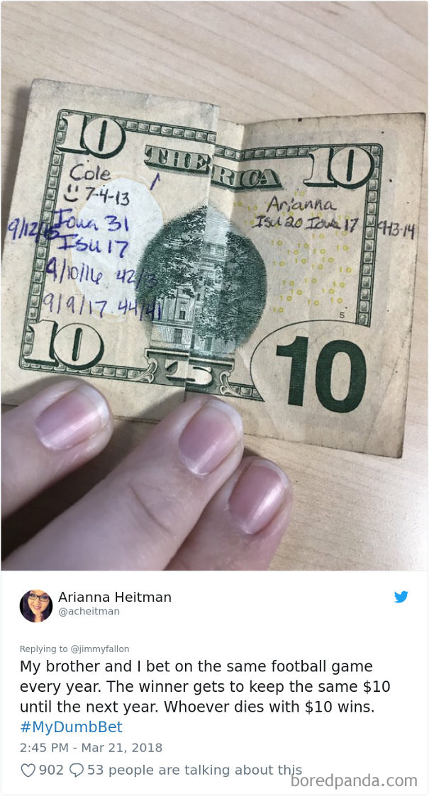20+ Times People Made A Bet They Probably Wish They Hadn't