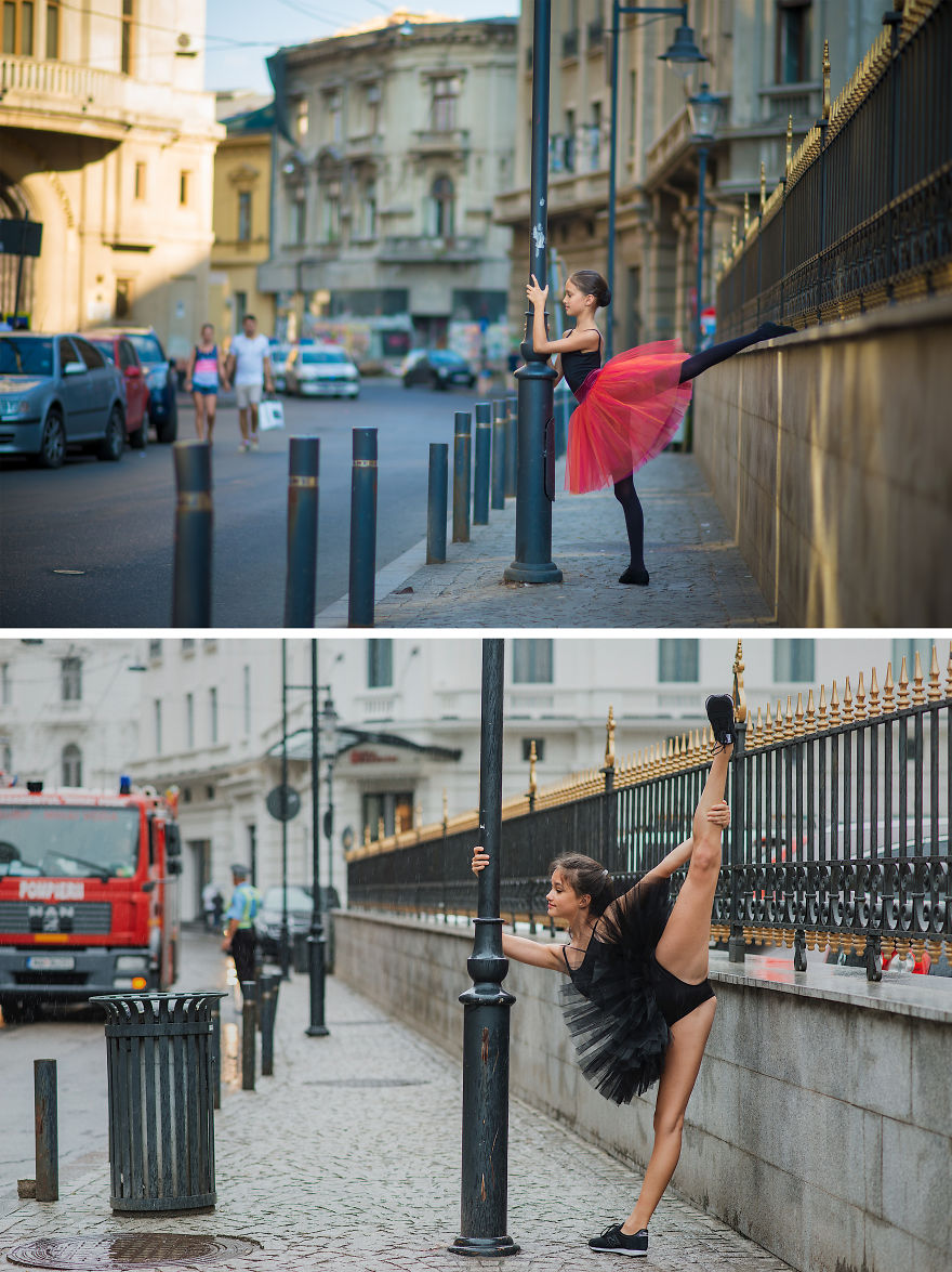 After Three Years The Little Ballerina Returns To The Same Places That Made Her Popular