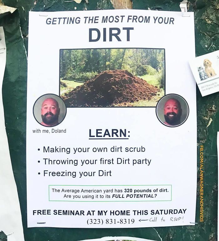 He Could Probably Show Me How To Utilize My Dirt!