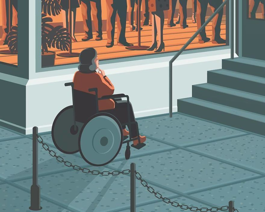 Difficulties Getting Around In A Wheelchair