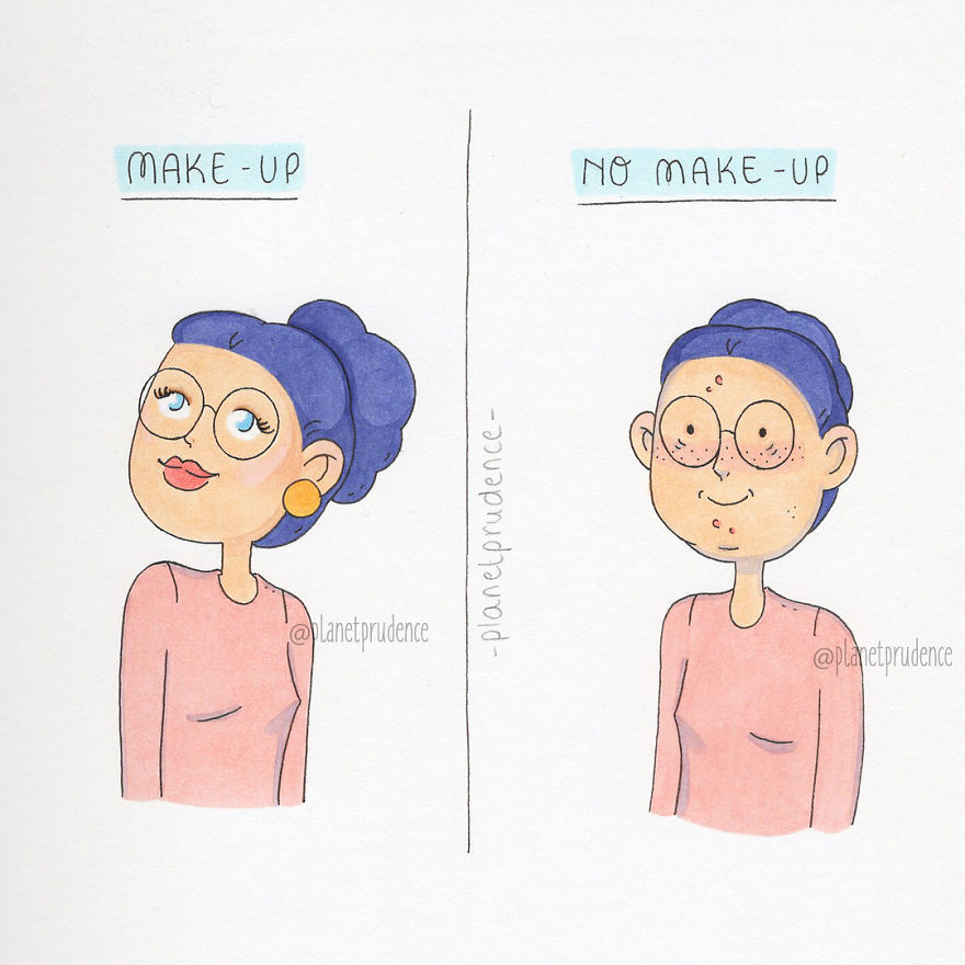 Funny-Women-Everyday-Problems-Comic-Planet-Prudence-3