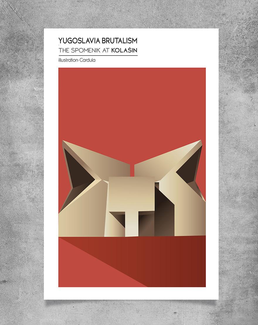 Brutalism In Yugoslavia