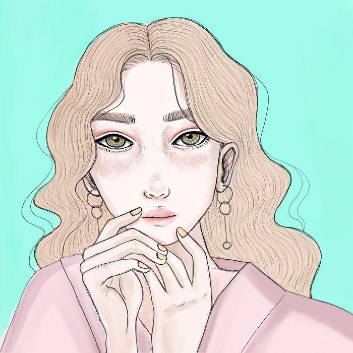 I Create Colorful Illustrations