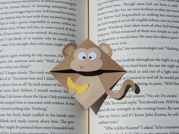 Adorable Handmade Corner Bookmarks