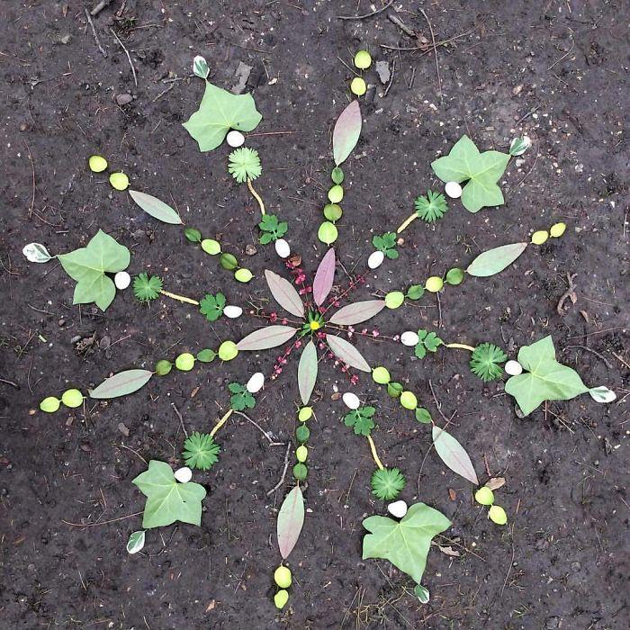 I Create Mandalas Out Of Nature Materials As A Way Of Meditation