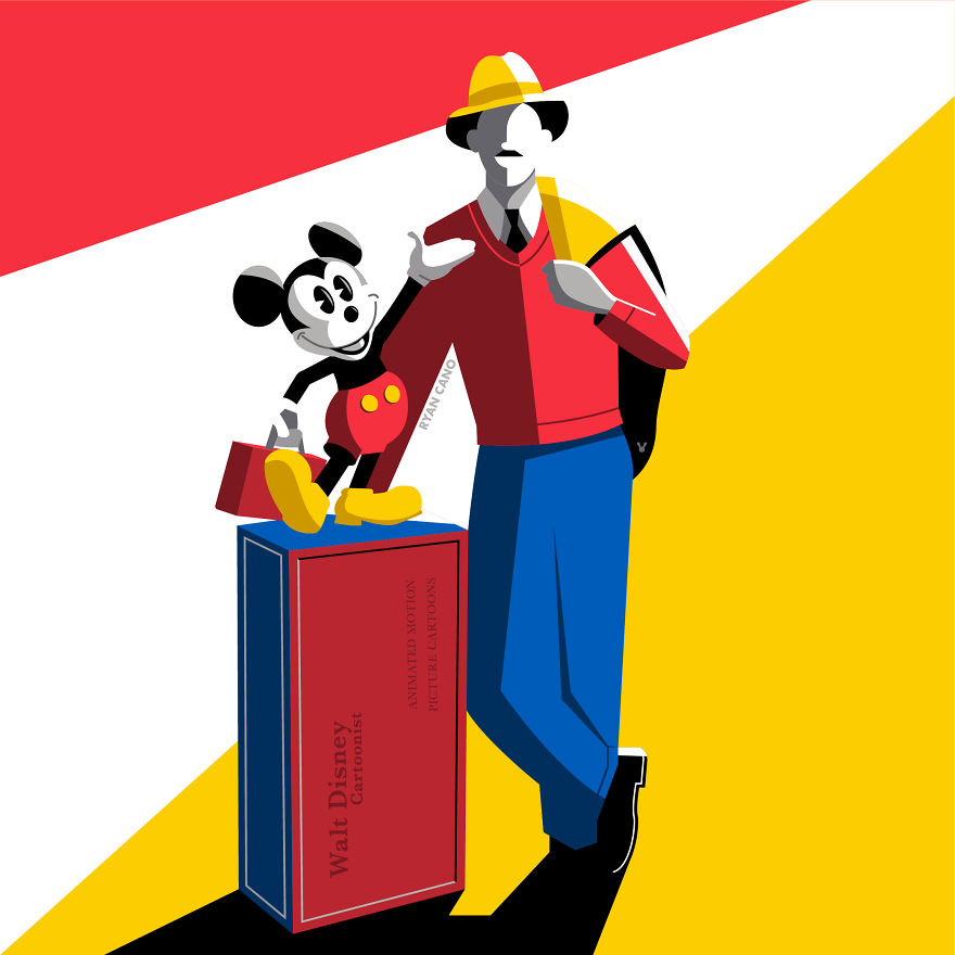 i illustrate the architecture and design of disney parks in vivid