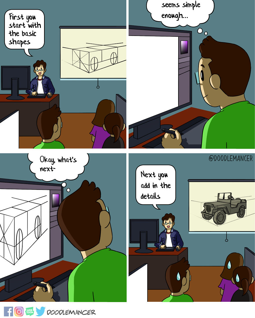 I Quit My High-Paid Engineer Job To Follow My Passion And Make Comics