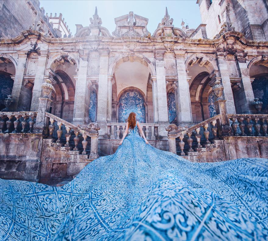 Porto, Portugal. Model: Svetlana