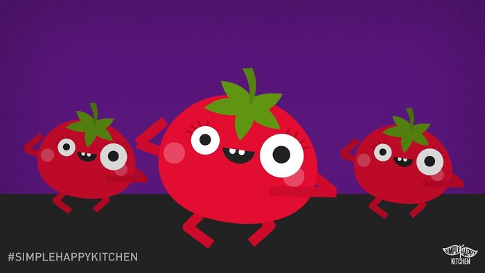 I Made An Animated Dance Video For Ciara's #levelupchallenge Featuring A Dancing Tomato!