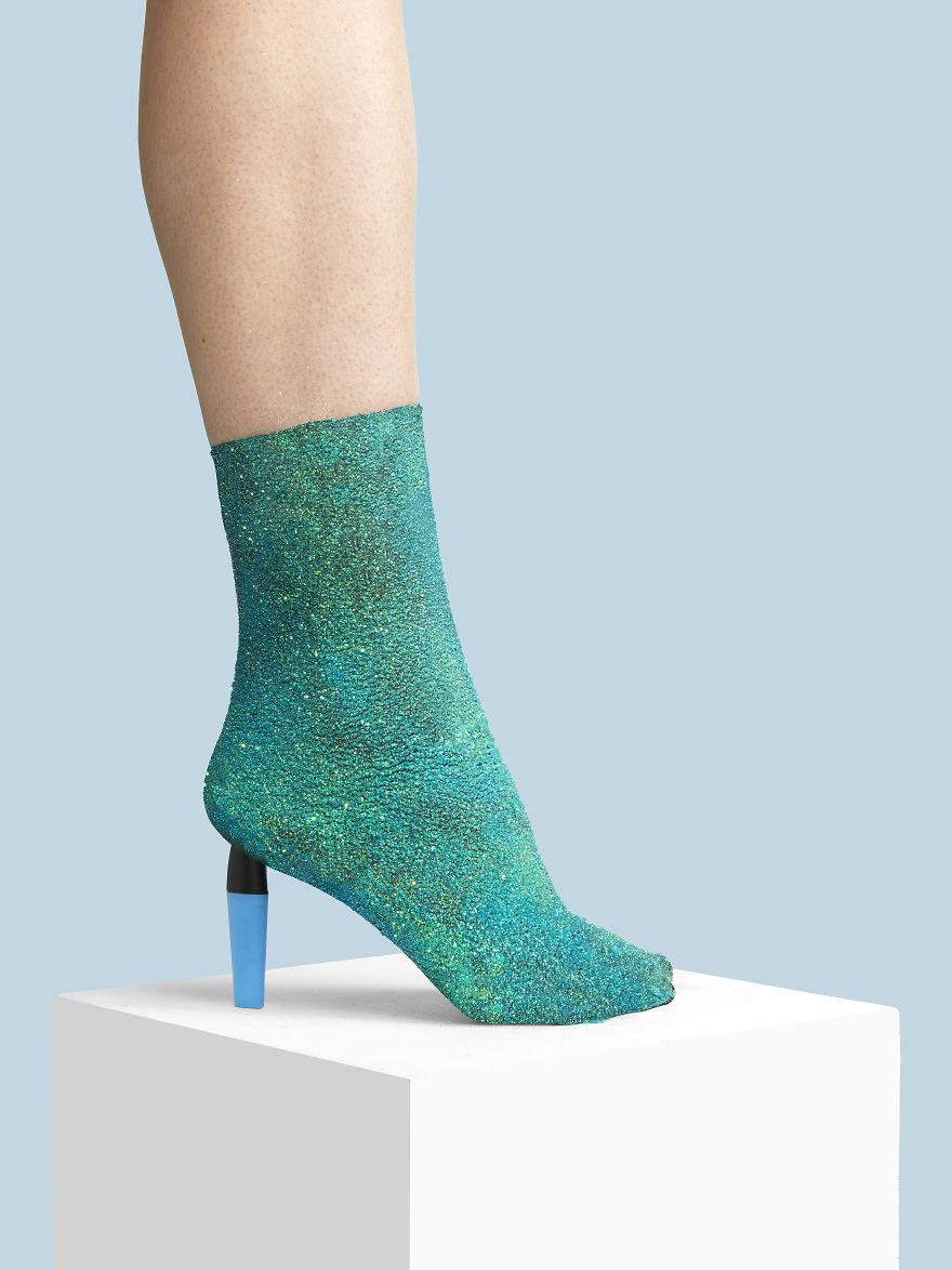 The Glitter Boot