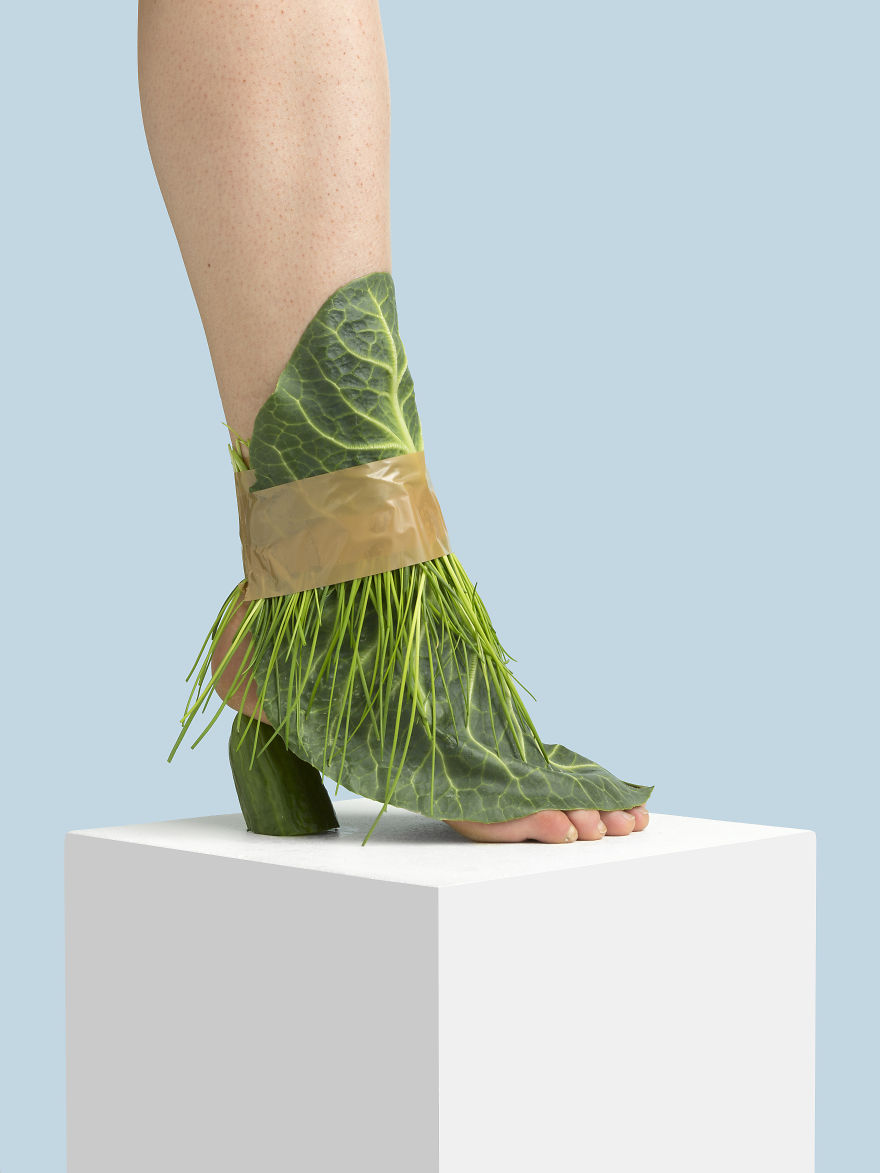 The Fringy Cabbage Sandal