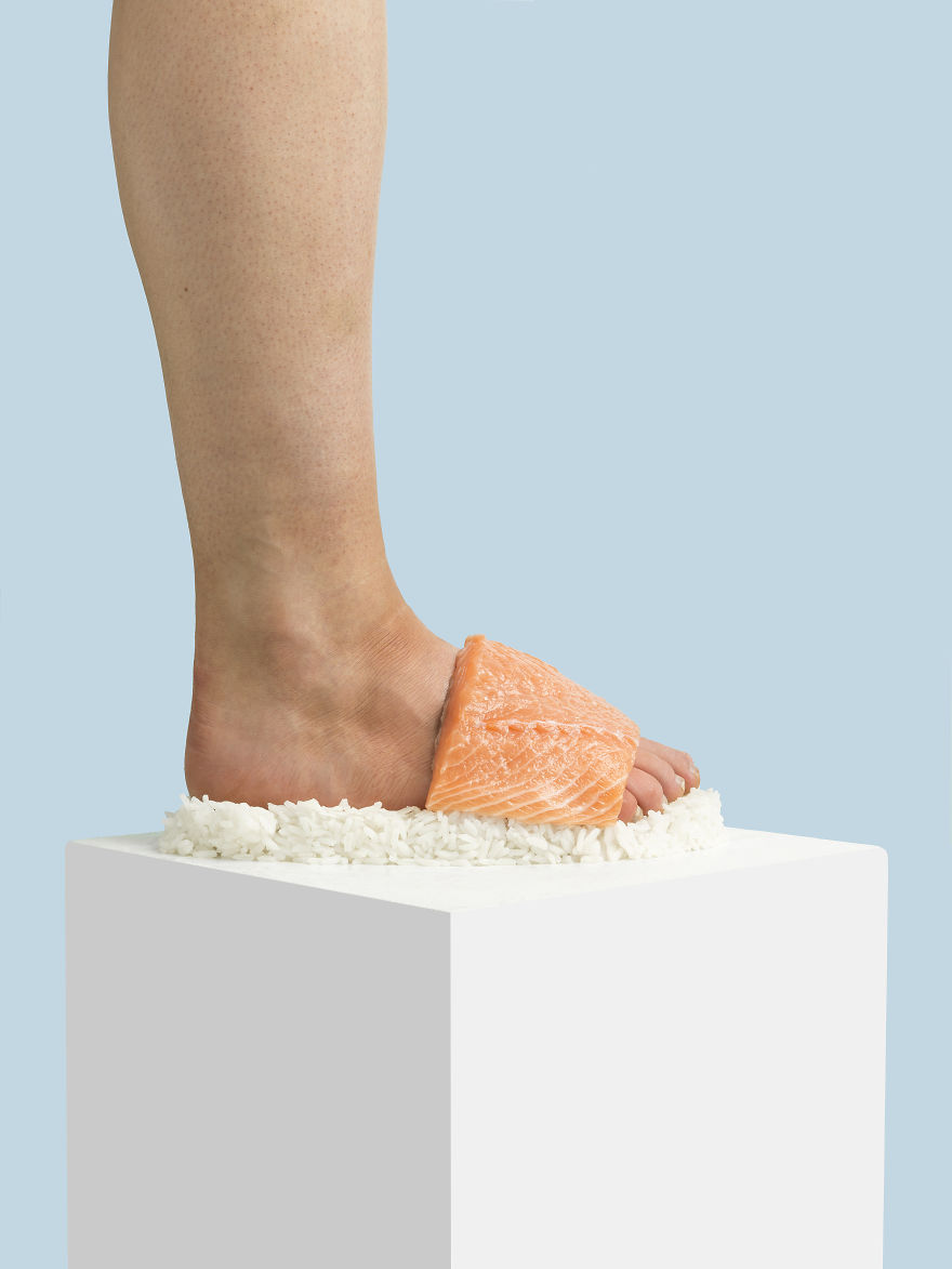 Dibuat dari bahan-bahan yang nggak biasa, sepatu-sepatu ini sangat keren! (dok. Instagram @nikolajbeyer)