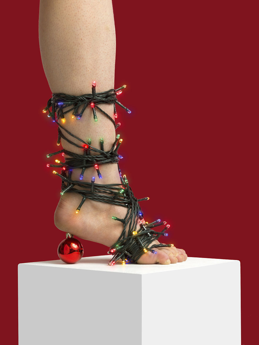 "The ""Is It Christmas Yet?"" Heel"